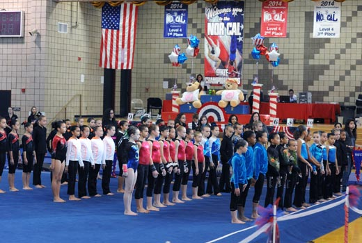 liberty cup gymnastics meet