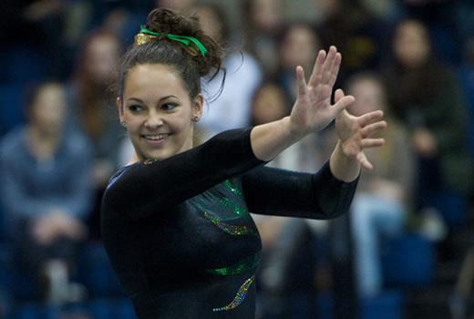 oregon state gymnastics meet results